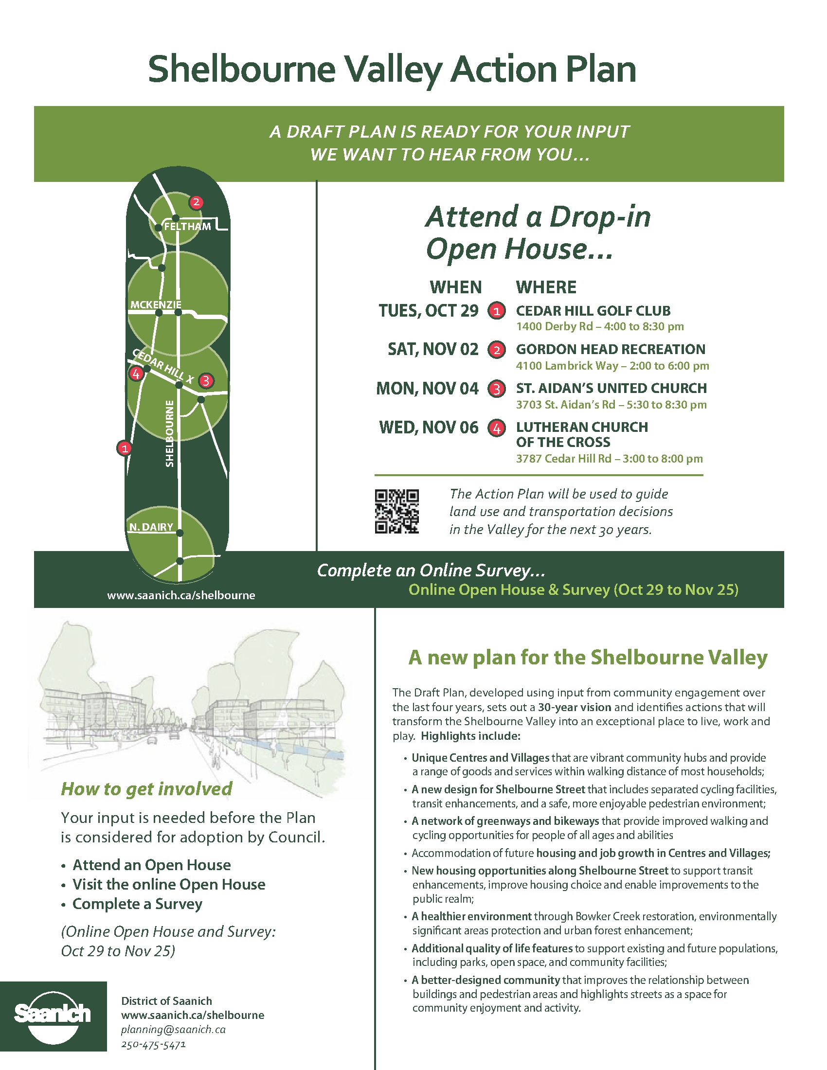 Shelbourne Valley Action Plan open houses | Camosun Community ...