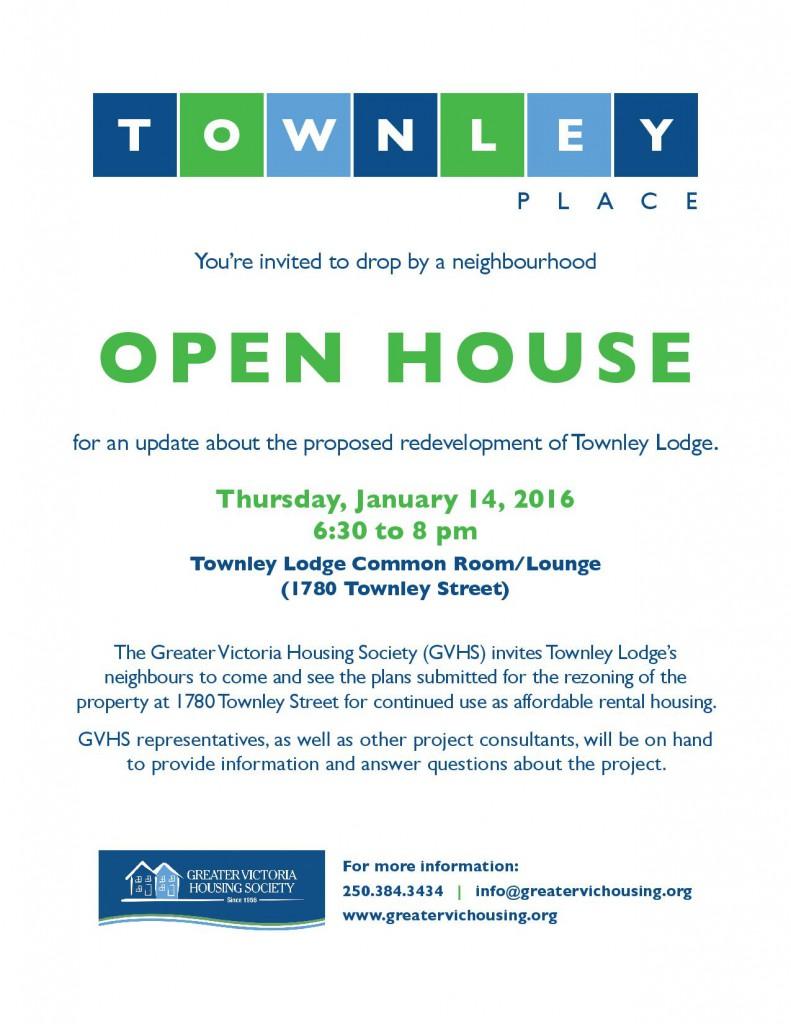January 14 2016 Open House