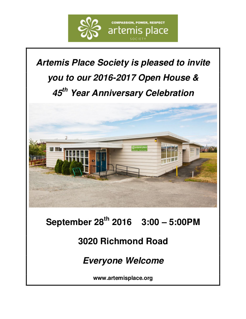 Artemis Place Open House